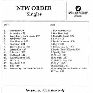 New Order - Singles download free